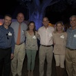 53 Dr. Daniel Penny, from left, Dr. Charles Fraser, Leslie and Michael Fertitta and Carolyn and David Anderson at the Toss for Texas Children's Hospital October 2014