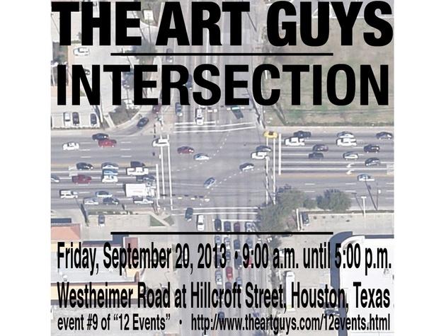Art Guys intersection piece