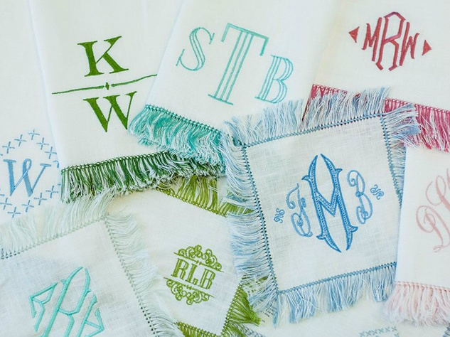 Halo Home by KSW monogrammed linens
