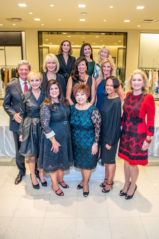 Bobby Dees and Class of 2015 at the Women of Distinction announcement party October 2014