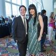 6 Nick Espinoza and Tiffany Halik at the Latin Womens Initiative May 2014