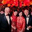 26 Hugh and Jie Willey, from left, and Linda and Ted Wu at the Asia Society Tiger Ball March 2015