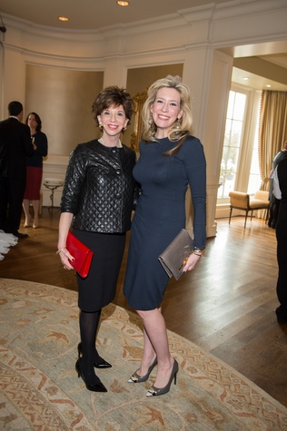 19 Vicki Rizzo, left, and Mauri Oliver at the HSPVA 9th Annual Encore for Excellence luncheon February 2015