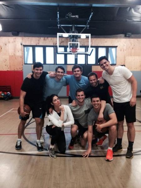 Sarah Silverman basketball