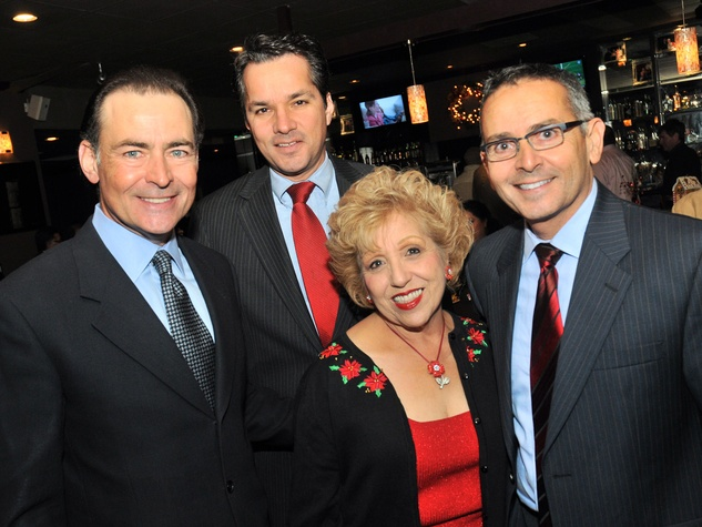 4, Hispanic Advisory Board party, December 2012, Orlando Sanchez, Jay Guerrero, Lolita Guerrero, Ramiro Fonseca