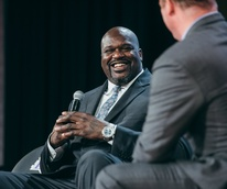 Shaquile O' Neal and Matt Iseman