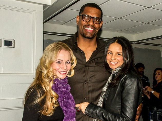 Angela Ruble, Kurt and Nichole Thomas, challenger of dallas sponsor and players party