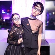 Elodie Ngouansavanh, Anthony Aguilar at Heart of Fashion Masquerade Ball