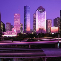 Houston, skyline, downtown, buildings, dus