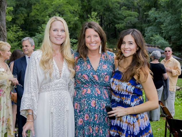 Umlauf Sculpture Garden and Museum Garden Party 2016 Lauren Peters Lacy Lyons Cassie McKinney