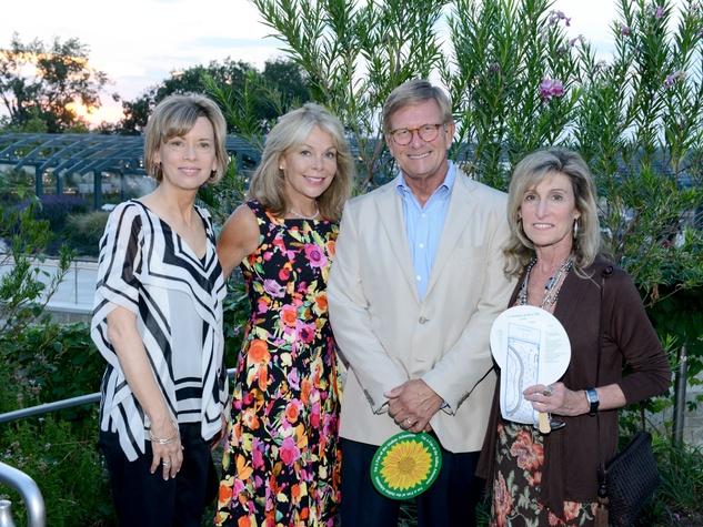 Lisa Simmons, Madeline and Jim McClure, Meri-Kay Star, Rory Meyers Children's Adventure Garden Gala