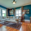 Living room at 701 S. Clifton Ave. in Oak Cliff