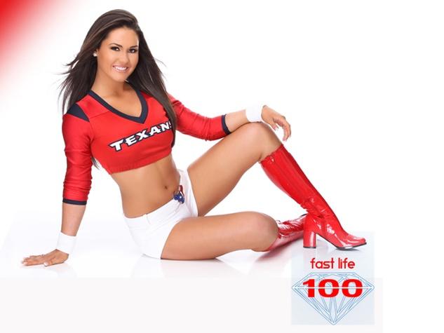 most beautiful NFL cheerleaders, Houston Texans cheerleaders, Kelli, December 2012