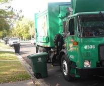 Houston recycling bins