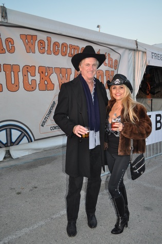 News, Shelby, World Championship BBQ Cook-off, February 2015, Maria and Gregg Saxe