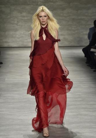 Clifford Fashion Week New York fall 2015 Pamella Roland March 2015 Look 26