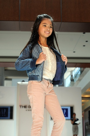 News, Shelby, MD Anderson Children's Fashions, August, 2014, Alexa Ly wearing Gap Kids