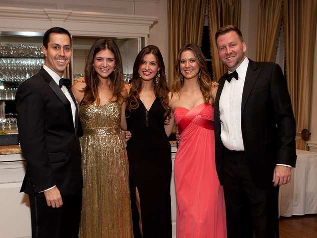 466 Max and Carrie Monzon, from left, Lesli Liles and Lindsay and Jonathan Wilson at the Blue Bird Circle Gala October 2013