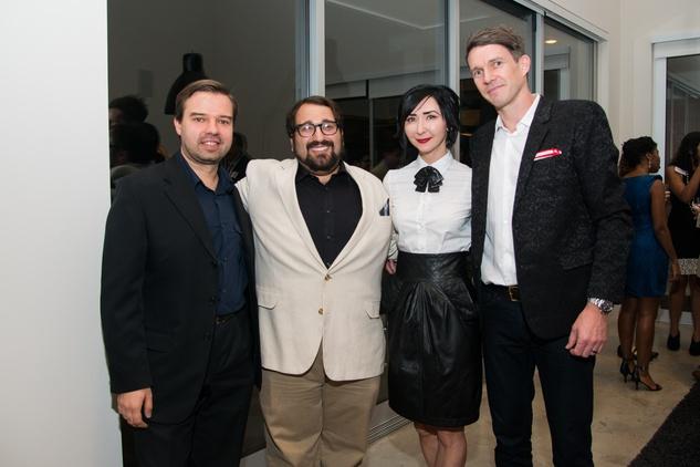 Houston, HGO Young Patrons event, October 2015, Kirill Kuzmin, Chris Bozeka, Carrie Brandsberg-Dahl, Sverre Brandsberg-Dahl