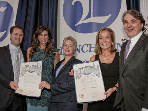 Legacy Luncheon, September 2012, Michael Mithoff, Melissa Mithoff, Mayor Annise Parker, Melanie Gray, Mark Wawro, list 3