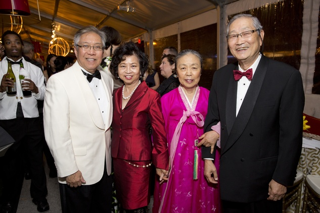 Asia Society Tiger Ball, March 2016, Gordon Quan, Sylvia Quan, Gigi Seo, Timothy Seo