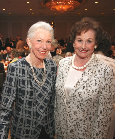 Houston, Menninger Clinic Annual Luncheon, May 2016, Lynda Underwood, Ann Trammell