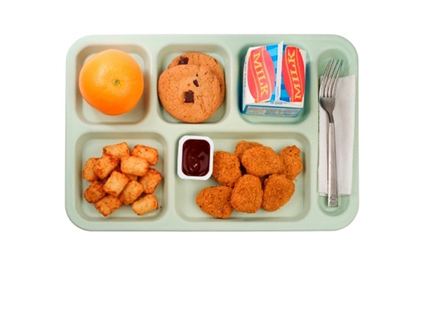 Austin Photo: Poll_school lunch_hot school lunch
