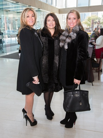 Sonia Black, Donna Brittingham, Amy Turner, saint valentine's day luncheon