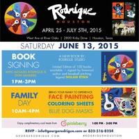 Rodrigue Art Exhibit Family Day