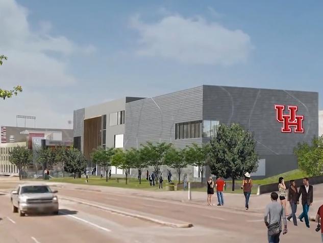 3 University of Houston Basketball Development Facility Renderings September 2014