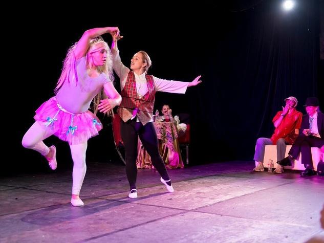 Catastrophic Theatre Drag Ball 2015 Daniel Adame and Shanon Adams
