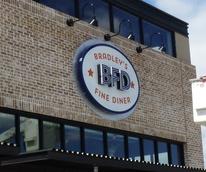 Bradley's Fine Diner sign March 2014 Bradley Ogden