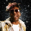 headshot of Big Freedia in space
