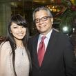 Van Ngo and David Ruiz at the Houston Ballet Jubilee of Dance Onstage Dinner December 2014