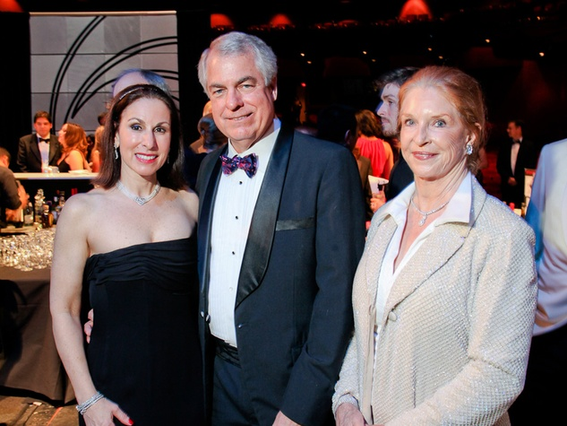 23 Janine Iannarelli, from left, Andrew Fish and Carol Hunton at the Mercury Baroque Gala March 2014