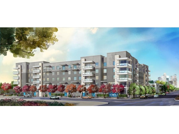 Pearl Midtown, apartment complex, rendering, January 2013