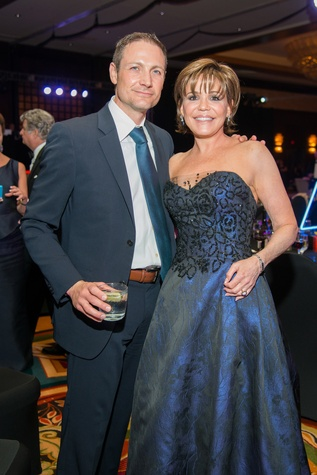 Symphony Ball, May 2015, Ken Freeman; Hallie Vanderhider