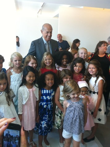 Clifford, Fashion Week spring 2013, people, Oscar de la Renta, children, September 2012