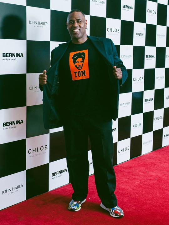 Austin Fashion Week 2016 red carpet Steve Foster