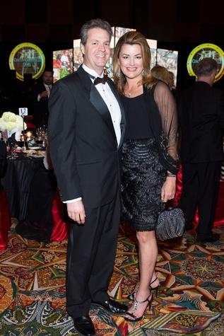 5 David and Miranda Paul at the Covenant House Gala March 2015