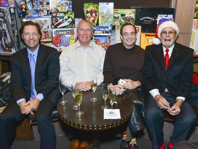 11 Richard Rolland, from left, Jack Lewis, Richard Dole and Dr. Tom Sawyer at Joyful Toyful December 2013