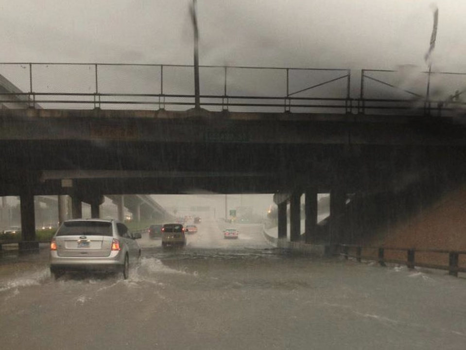 rain, weather, flooding, highway, cars