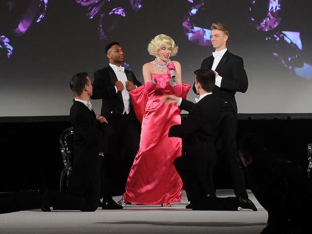 Houston, Winter Ball Women of Distinction, Feb 2017, Performance by Marilyn Monroe  impersonator