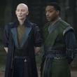 Tilda Swinton and Chiwetel Ejiofor in Doctor Strange