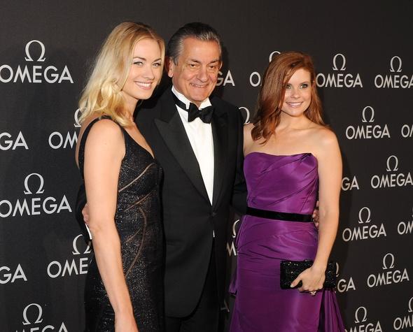 Omega Celebrates the 45th Anniversary of Apollo 13 Mission, May 2015, Yvonne Strahovski, Stephen Urquhart, Joanna Garcia Swisher