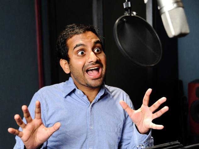 Aziz Ansari comedian