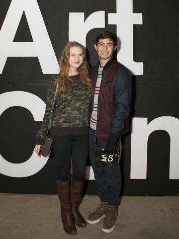 Lauren Hamm, Cyrus Keefer at Art Con X