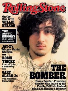Rolling Stone cover with Dzhokhar Tsarnaev