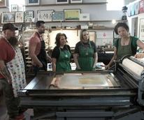 We Are 1976 letterpress class