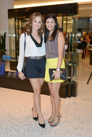 34 Linsay Radcliffe, left, and Kristy Bradshaw at the WOW Summer Soiree August 2014
